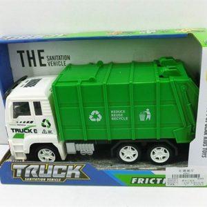 משאית זבל בקופסא 1/60 בקרטון