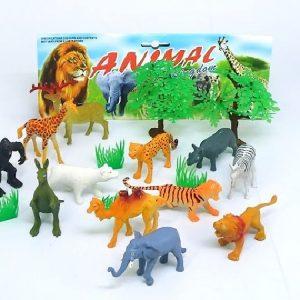 חיות בר בינוני+יער
