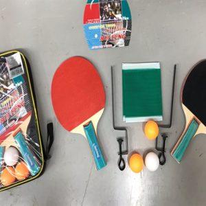 טניס שולחן בנרתיק כולל רשת