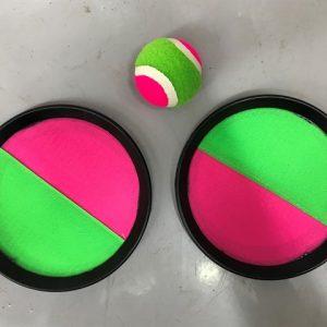 מטקת סקוטש עגולה + כדור ברשת 1/60 בקרטון
