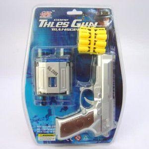 אקדח ניטים+משקפת צבאי