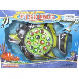 משחק דגים סוללה בקופסא