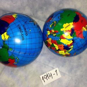 כדור גומי גלובוס בעברית-100 גרם
