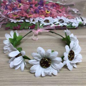 זר פרחים לראש