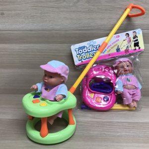 בובוה + הליכון / כיסא לתינוק