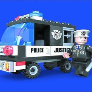 ליאגו – הרכבה – רכב משטרה 58 חלקים