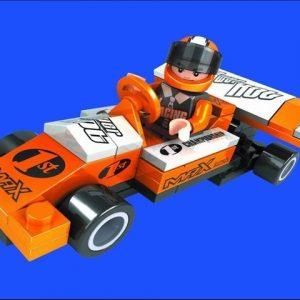 ליאגו – הרכבה -מכונית מירוץ – 60  חלקים