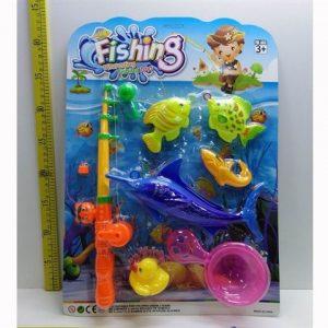 משחק דגים בלוח